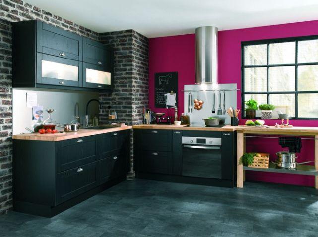 Meubles Mur De Gauche Voir Pour Un Autre Colori Home Sweet Home - Meuble de cuisine conforama pour idees de deco de cuisine