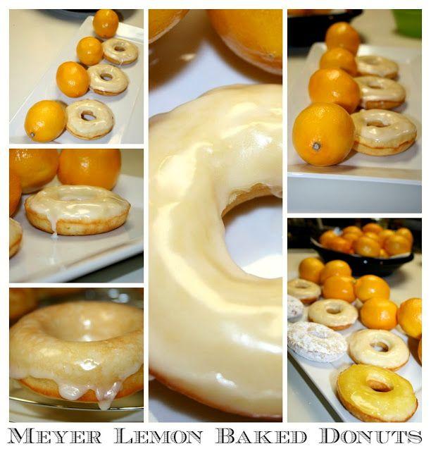 Baked Meyer Lemon Donuts - Makin' it Mo'Betta