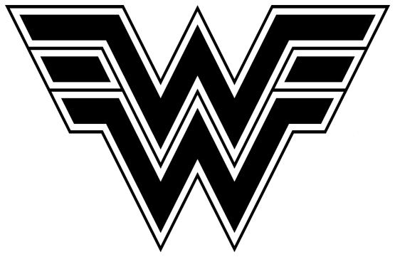 pix for  u0026gt  super hero logos black and white