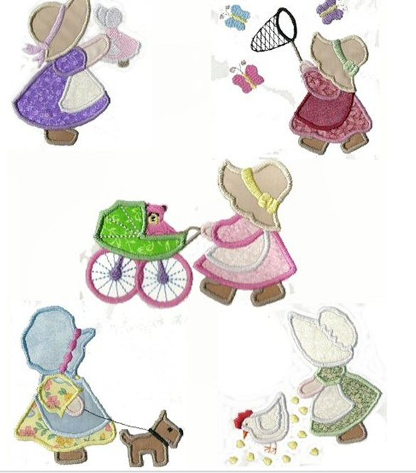 A few more Sue designs. | Some of My Embroidery Designs | Pinterest ...