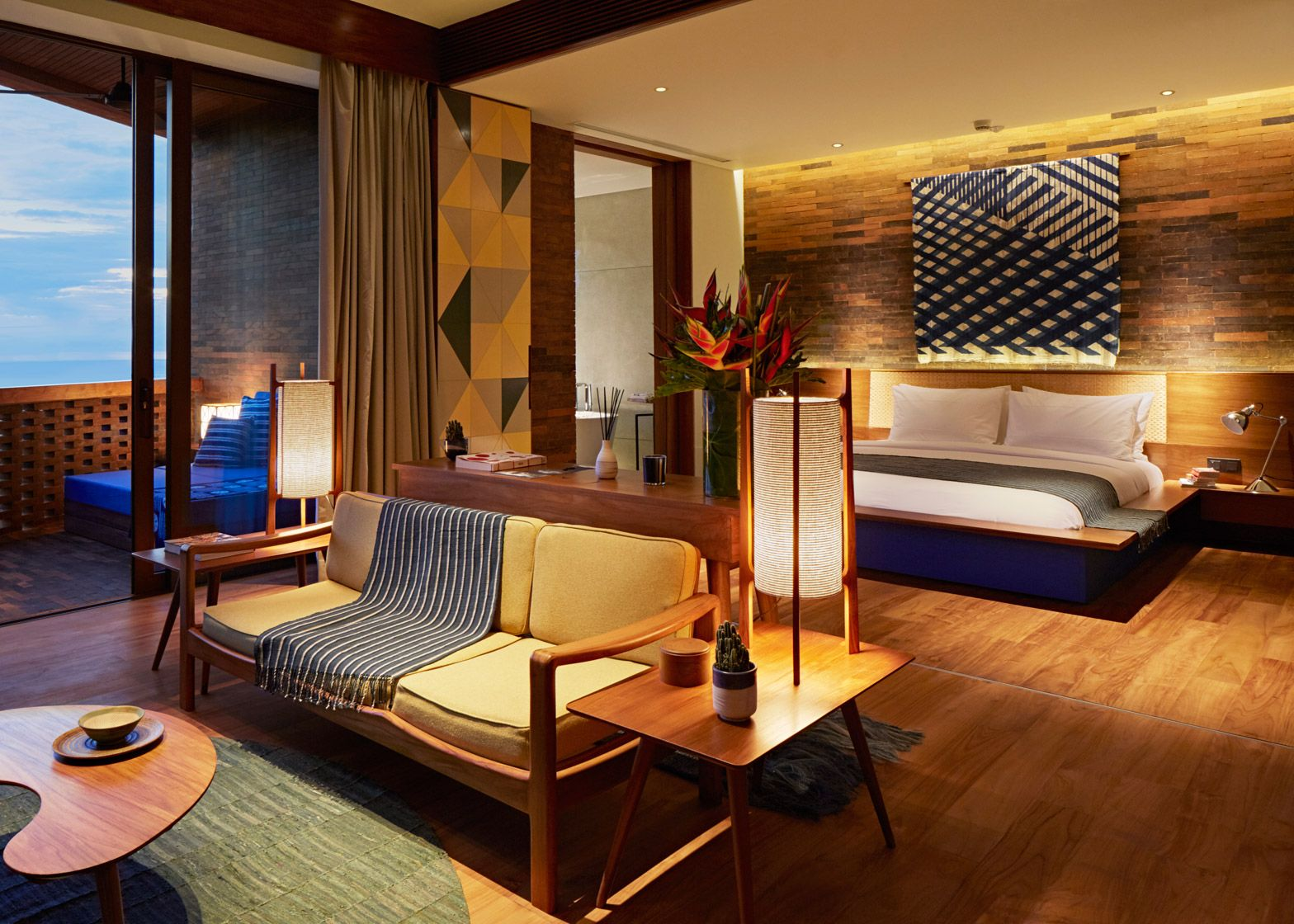 Katamama hotel showcases bali 39 s crafts materials and for House interior design jakarta
