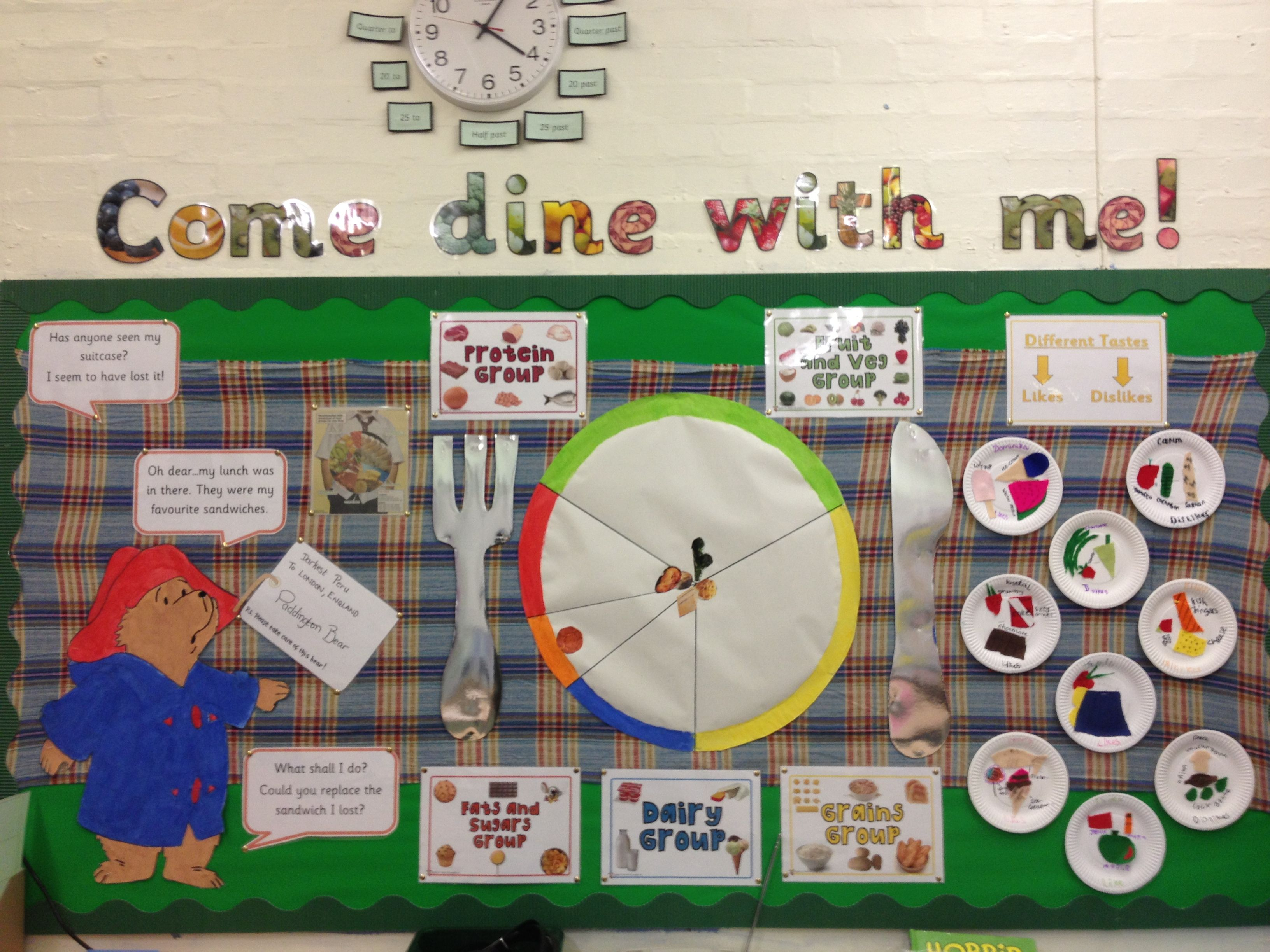 Year 3 Come Dine With Me Display