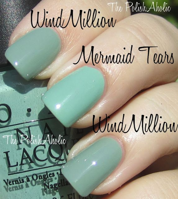 OPI Holland Collection Comparisons | wedding | Pinterest