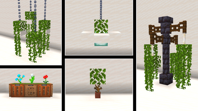 These are some of the plant builds I've made. Link