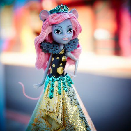 monster high boo york, boo york gala ghoulfriends mouscedes king doll, multicolor | monster high