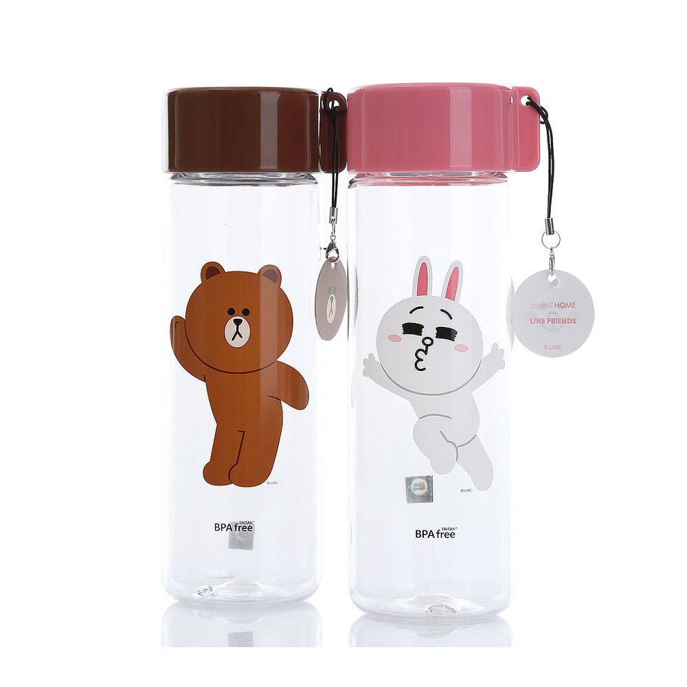 362030542903 Details about LINE FRIENDS x emart The Bottle 550ml BROWN / CONY ...