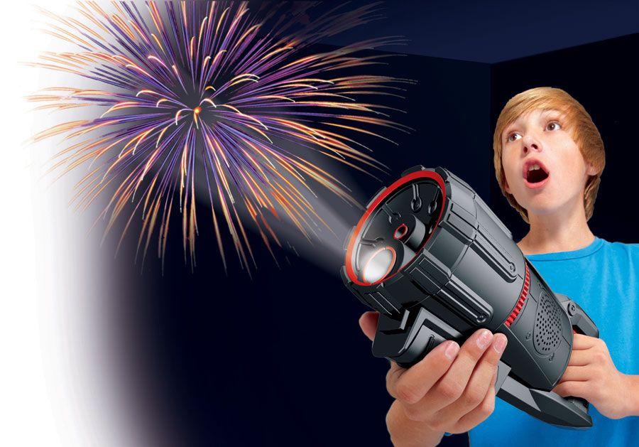 Fireworks light show...