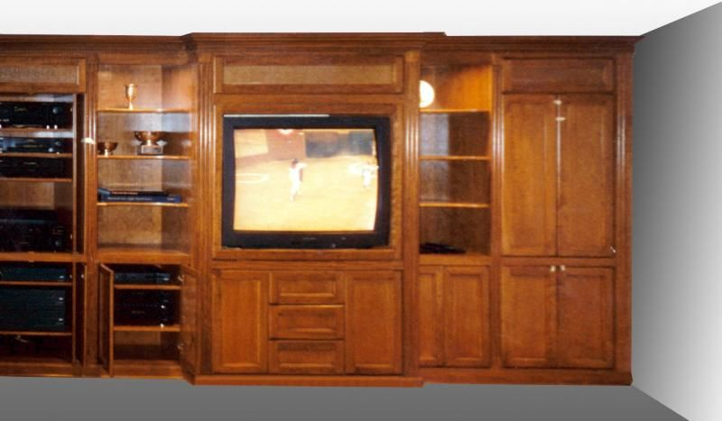 Home Theater Custom Cabinets | Home Services