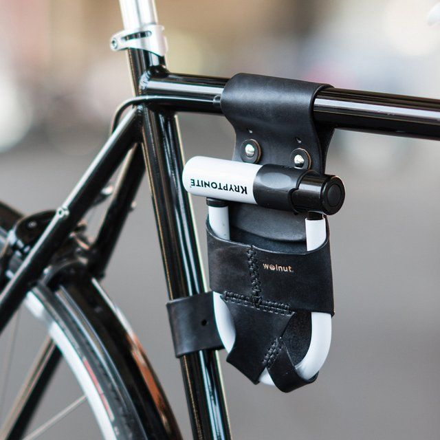 Frame Mounted U Lock Holster By Walnut Studiolo Bike Lock Bike