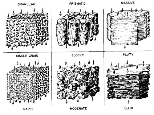 Examples of soil structure soils pinterest school for Soil structure