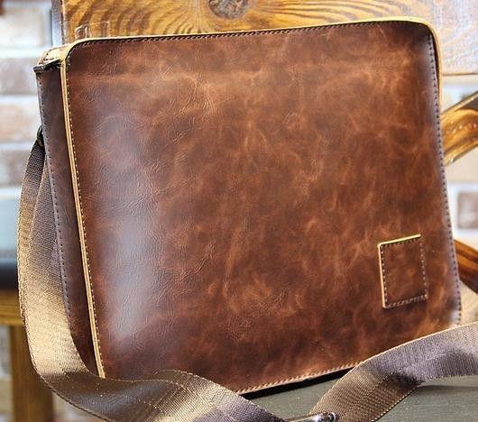 a1c996e658fb England Style new leather men Messenger Bags Large Envelope Bag Wholesale  Vintage Clutch Bag Cross-Body Shoulder Bag Brown Black
