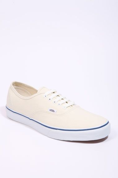 57304909bb Vans Authentic Cream Trainers - Just Classic!