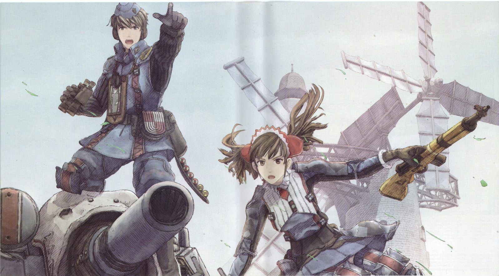 Download Valkyria Chronicles (1598x885) Minitokyo