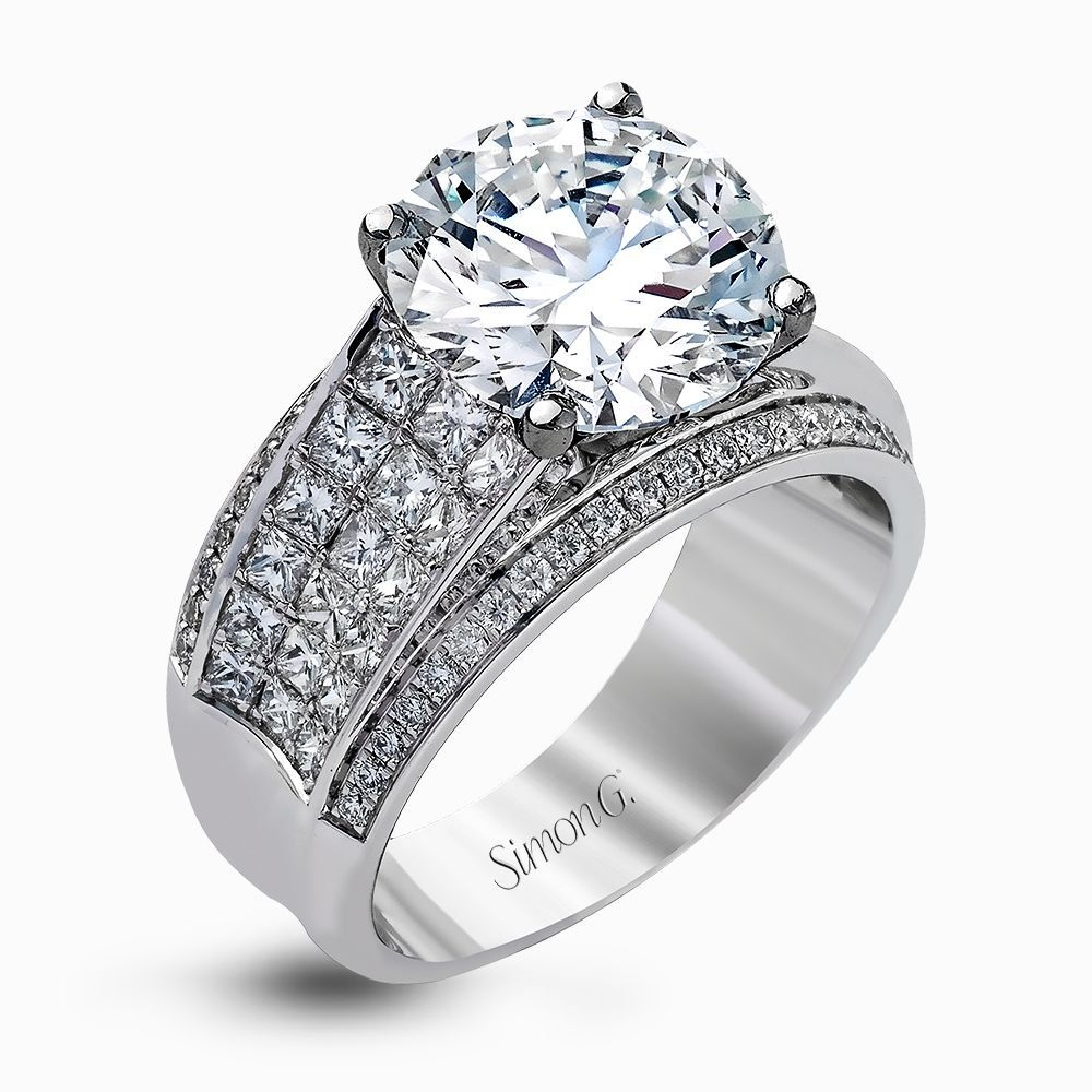 MR2916 RightHand Ring Contemporary engagement rings