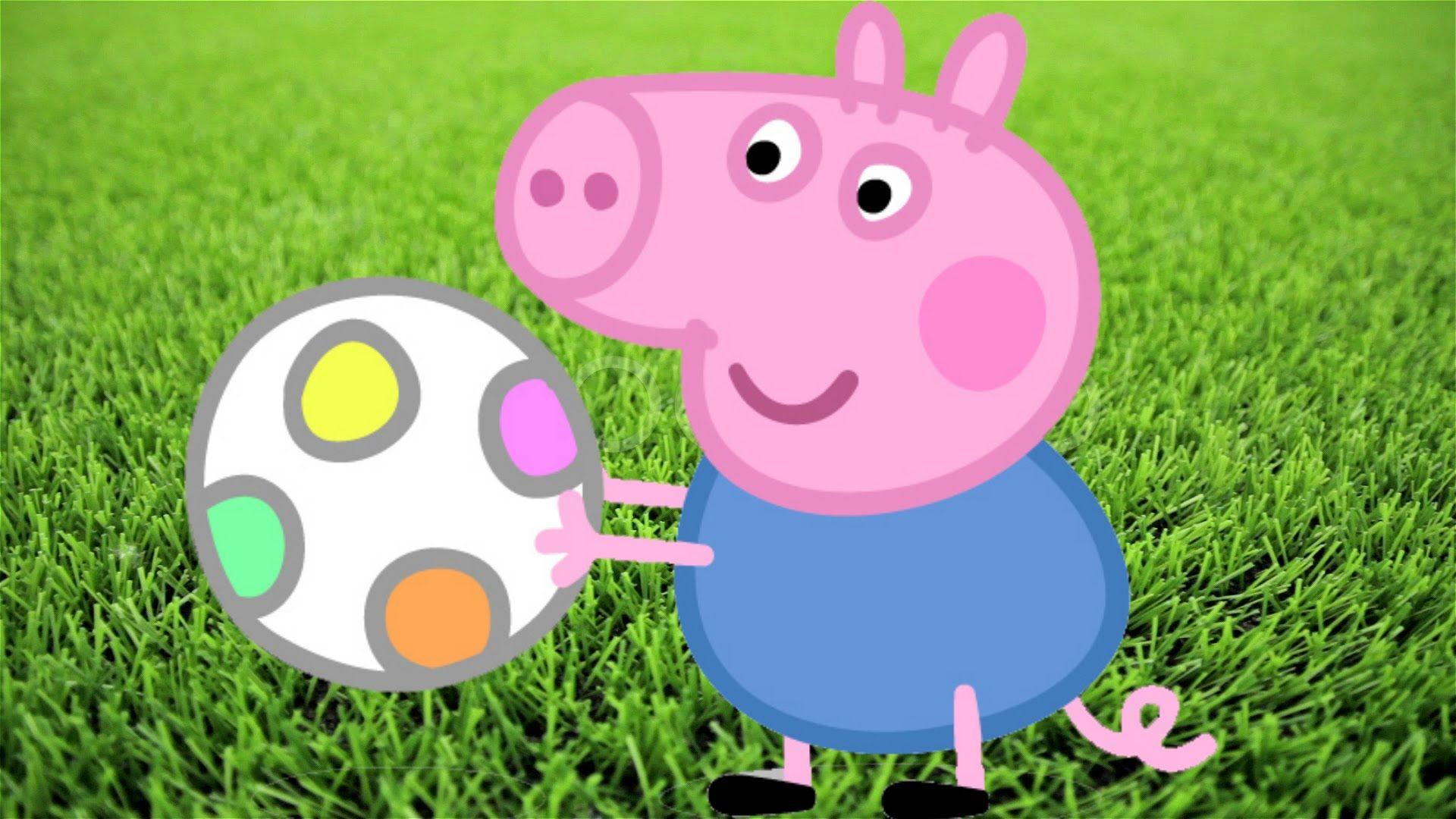George Pig Da Familia Peppa Pig Novo Episódio Desenho Português 2015