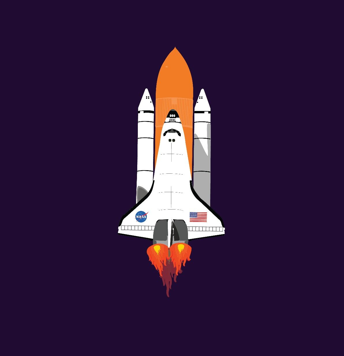 Space Shuttel Nasa America Space In