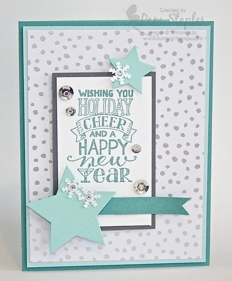 PCCCS 113 - Mingle All The Way   Cards, Christmas cards and Xmas cards
