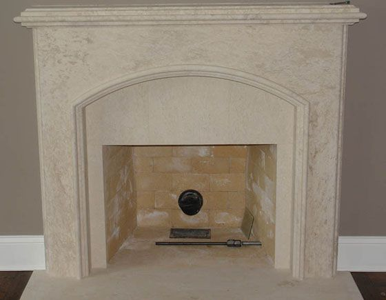 faux limestone fireplace mantels - Google Search | Fireplace ...