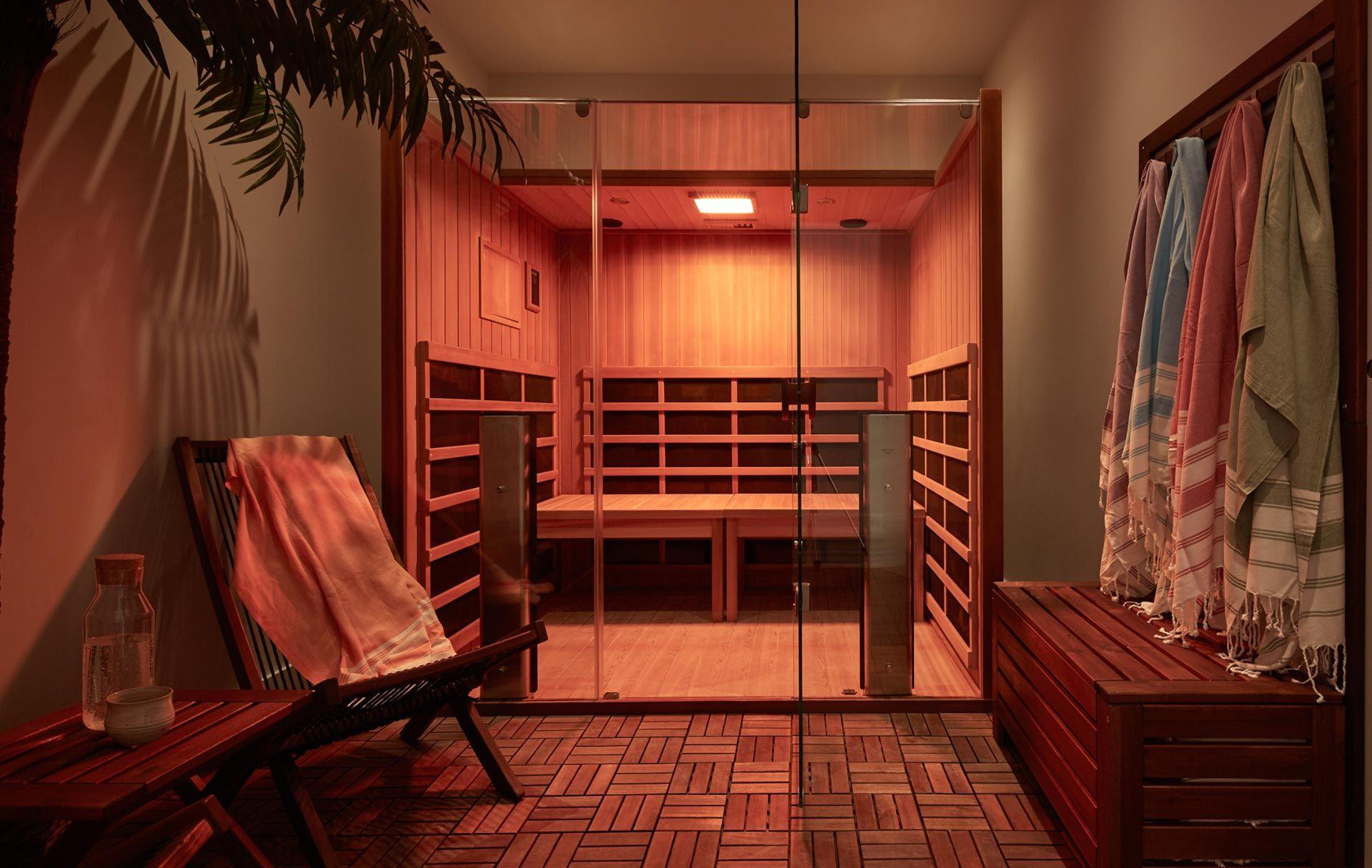 Infrared sauna hoame meditation studio toronto hot