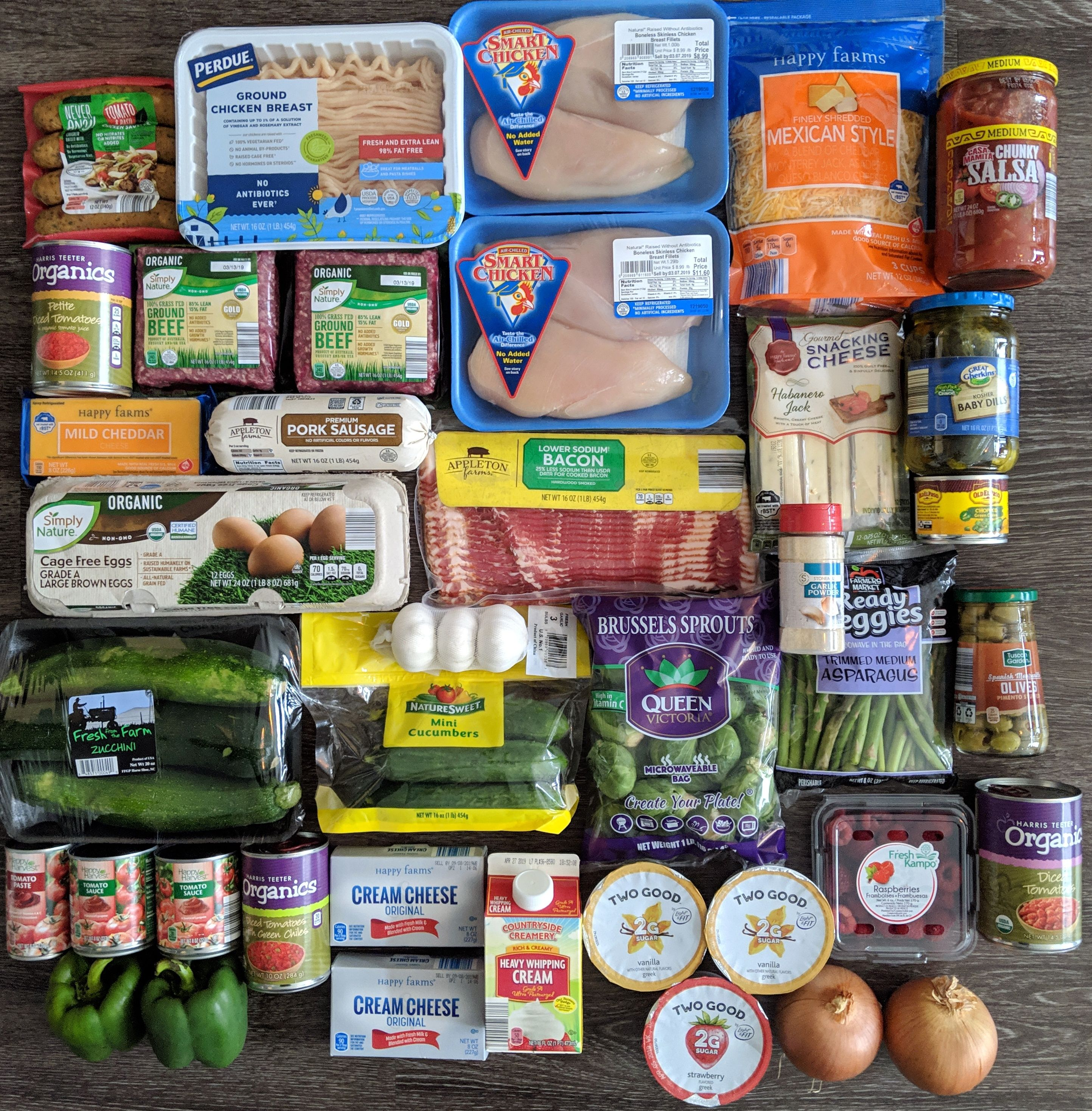 Aldi Harris Teeter Grocery Haul Grocery Haul Healthy