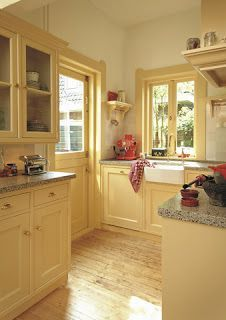 yellow Kitchen Cabinets | Restyled Home: Let the Sunshine in... (I ...