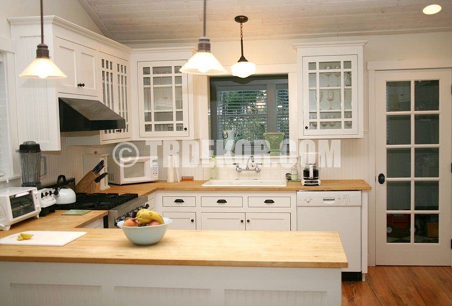 white country kitchen with butcher block. Kitchen Modern Small White Country Design Ideas With Cabinet And Wooden Floor Also Lamps Inspiring Pictures Of Butcher Block