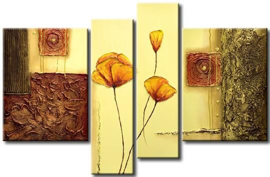 Cuadros abstractos para sala imagui quadros abistratos - Pinturas baratas online ...