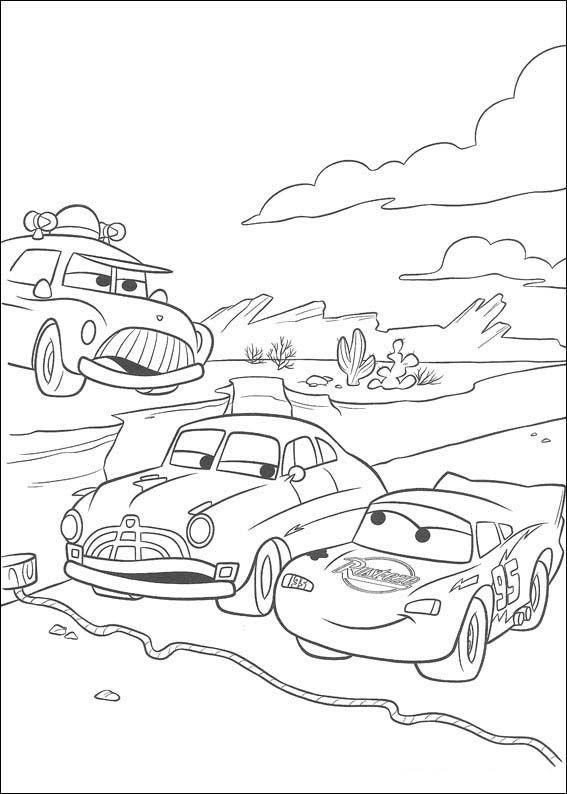 Desenhos Para Colorir Carros 47 Paginas Para Colorir Da Disney
