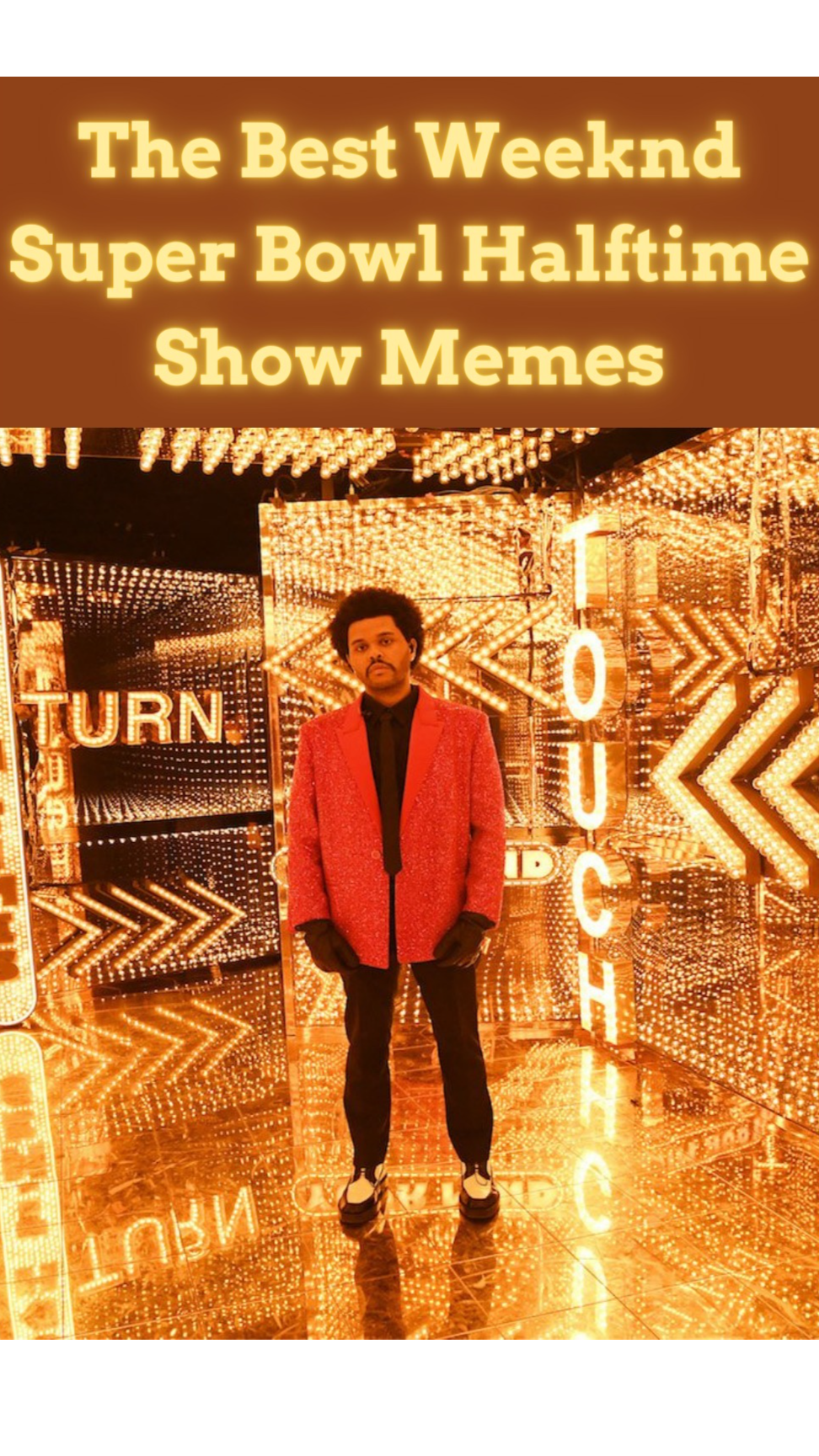 The Best Weeknd Super Bowl Halftime Show Memes An Immersive Guide By Parade