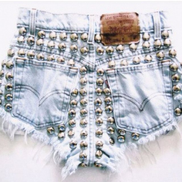 If you couldn't tell, I really want studded denim shorts.