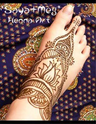 Easy Henna Foot Designs Creative Mehndi Design Feet 007