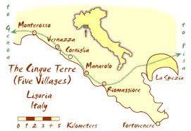Map Of Italian Riveria Portovenere Google Search Cinque Terre