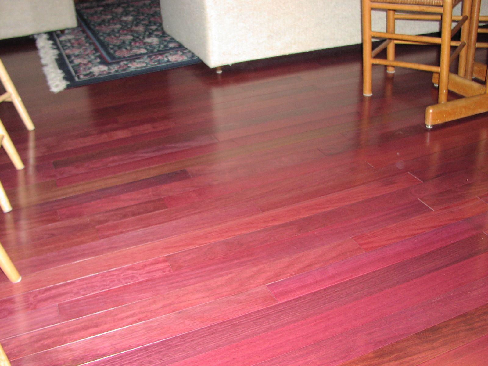 Purpleheart Wood Hardwood Floors