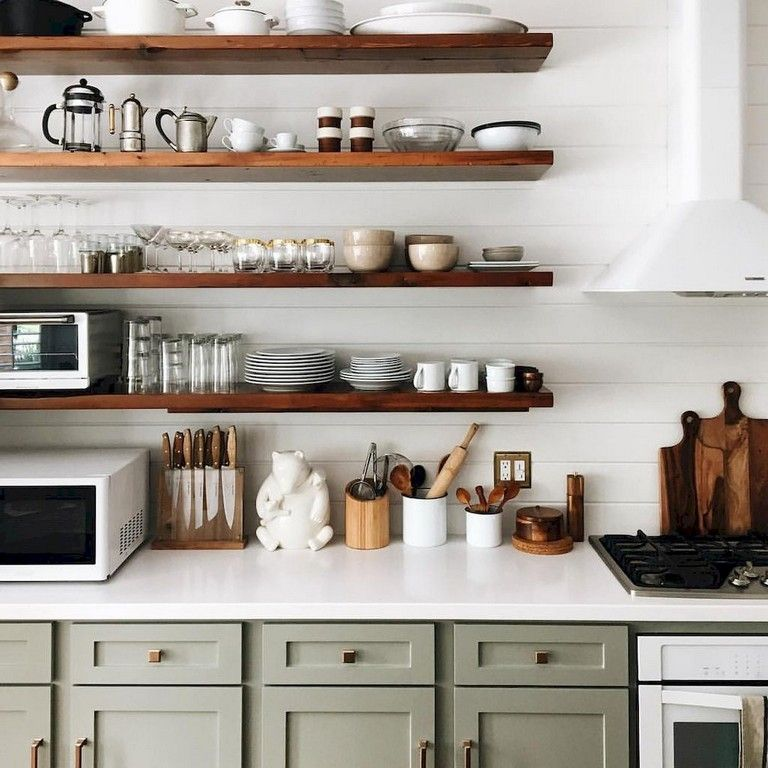 65 Good Small Kitchen Remodel And Open Shelves Ideas Kitchen Remodel Design Timeless Kitchen Kitchen Decor