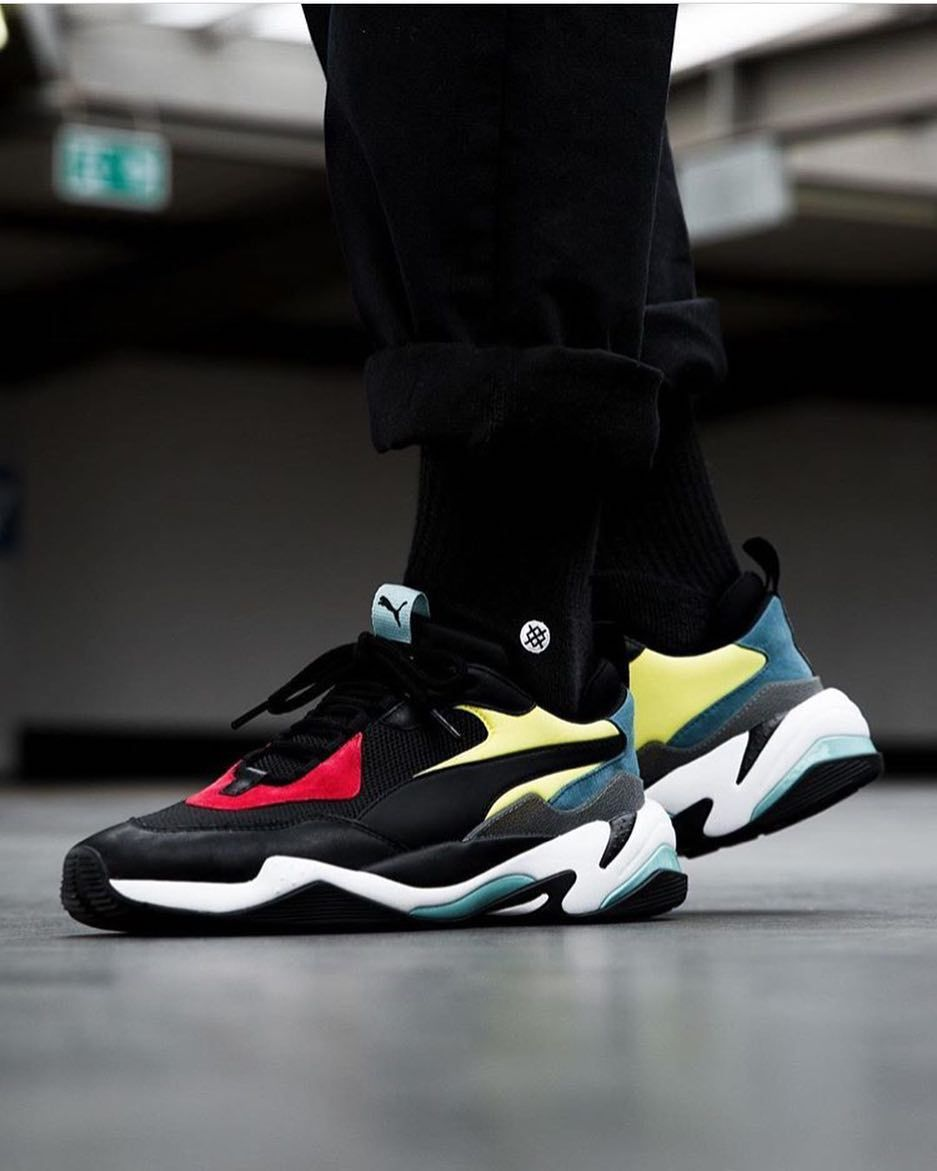 New silhouette! The @pumasportstyle Thunder Spectra is yet another ...
