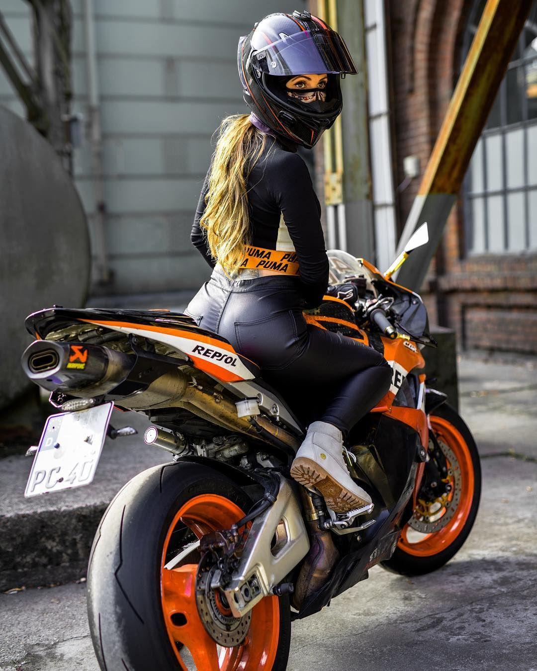 Pin von marek marecki auf moto Motorrad mädchen