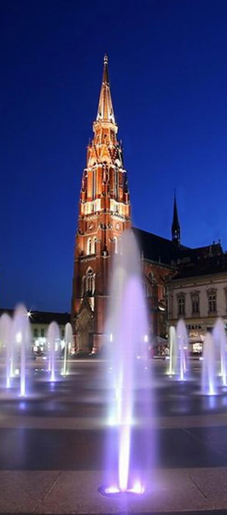 Grad Osijek Katedrala Hrvatska Osijek Croatia Central Europe