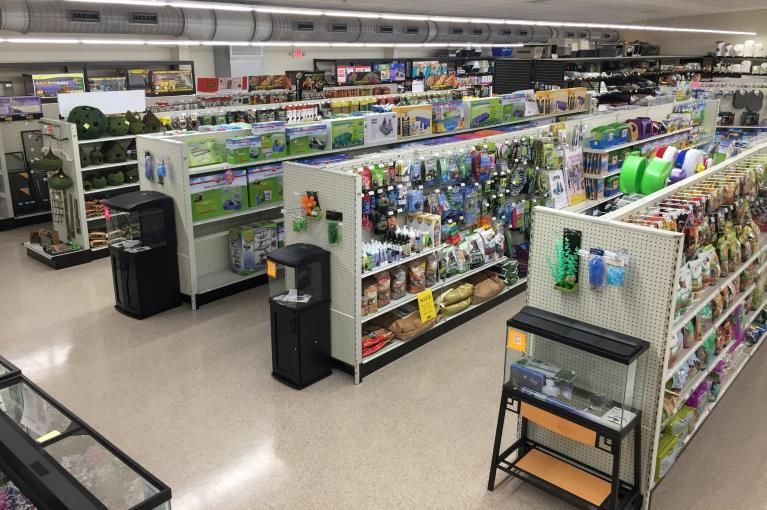 Pet Store Shelving Retail Pet Fixtures Displays Handy Store