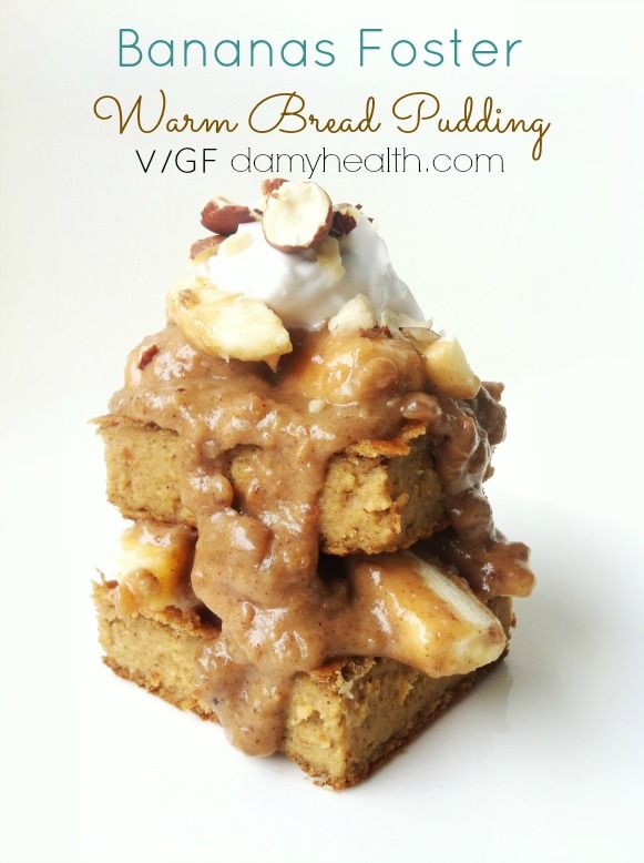 Bananas Foster Warm Bread Pudding | Bread puddings ...