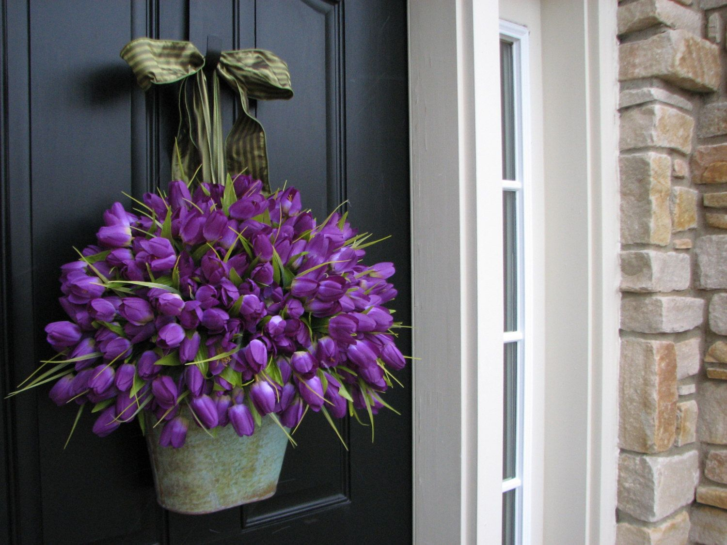 18 Sweet Easter And Spring Decorations | Spring door ...