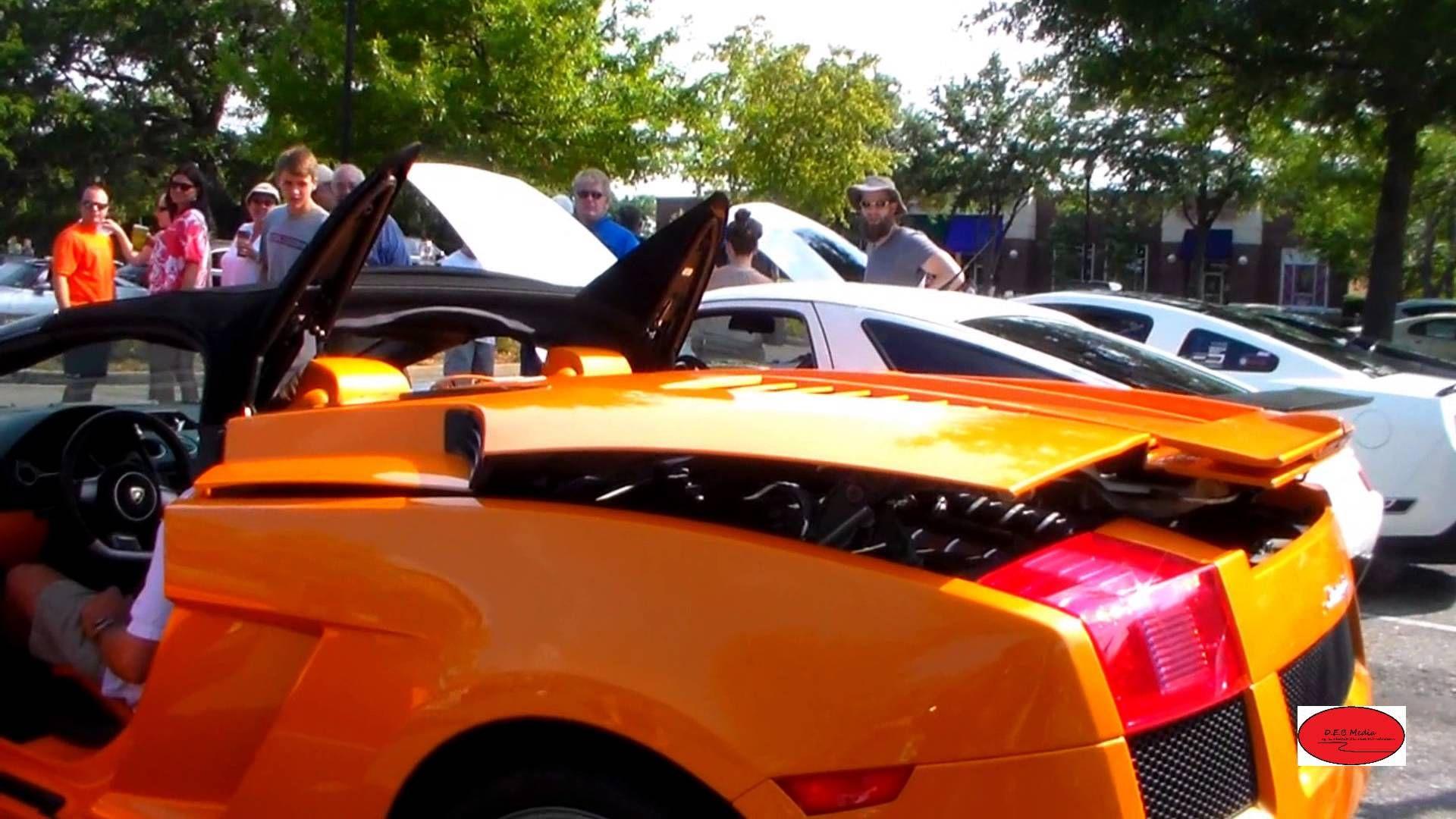 Rare Manual Lamborghini Gallardo Spyder Start Up And Exhaust
