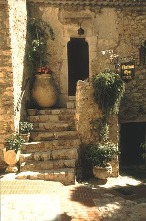 Eze Hotel Stairs