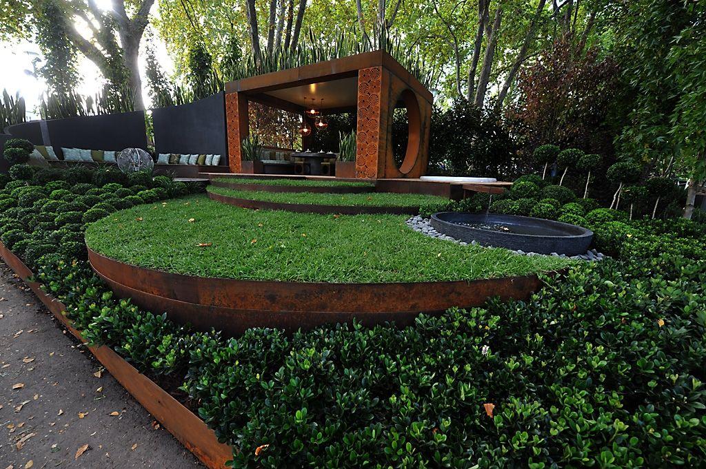 Best Metal Edging For Landscaping Landscaping Plans Steel Edging Landscape Steel Garden Edging Modern Landscaping