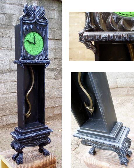 Haunted Mansion grandfather clock. Love this!
