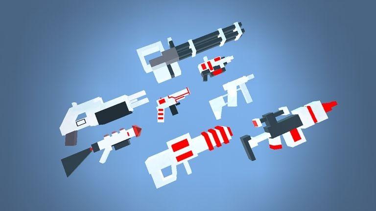 Pixel Gun Weapons - Roblox | the great hero | Guns, Weapons, Games