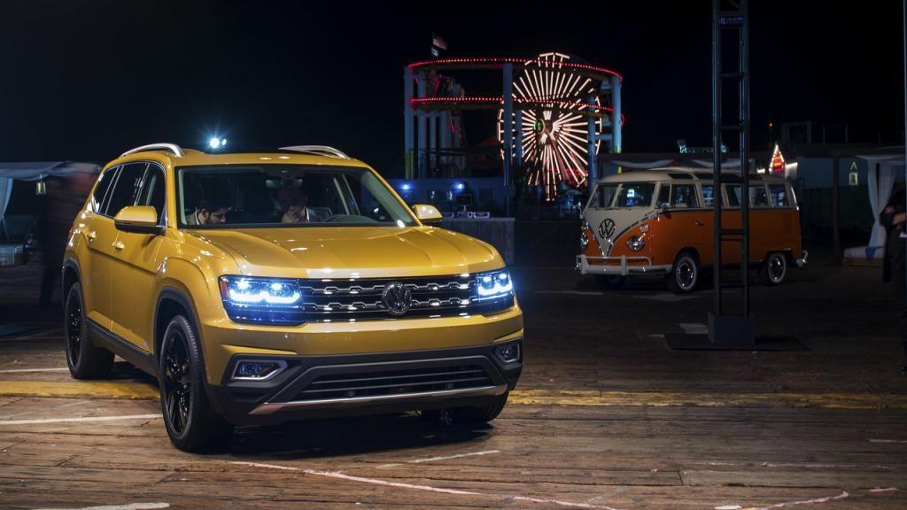 Volkswagen Atlas SUV Official Volkswagen, Car buyer, Car