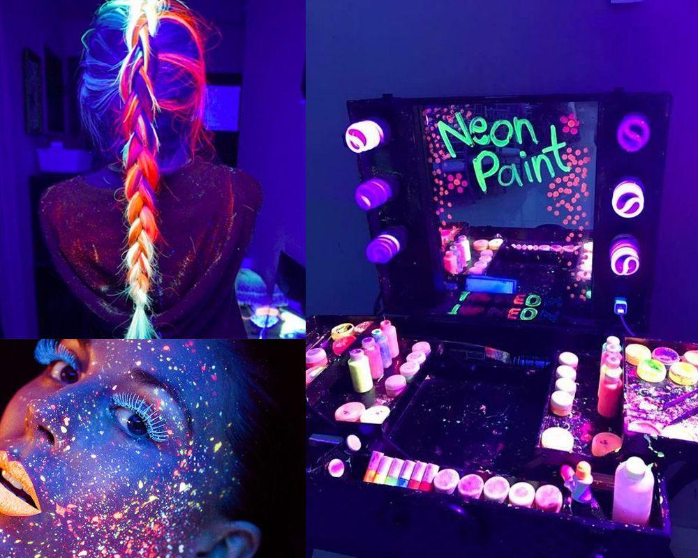 Festa De 15 Anos Tema Neon Decoração De Festa Neon