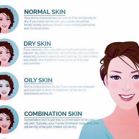 dry combination skin