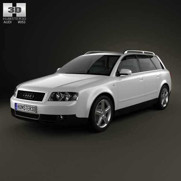 Audi A4 (B6) Avant 2002 3d Model From Humster3d.com. Price