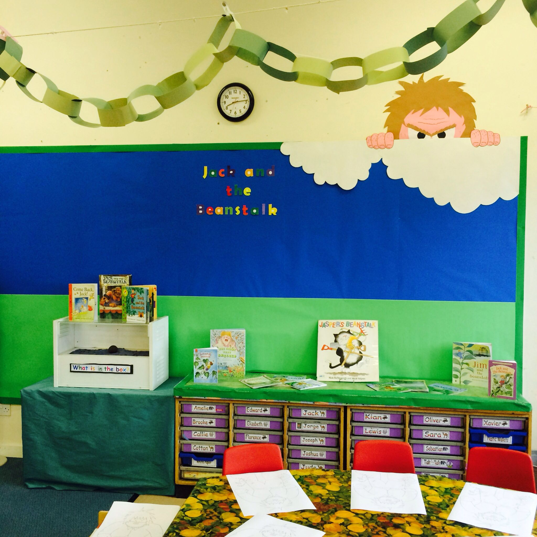 Jack And The Beanstalk Classroom Didplay